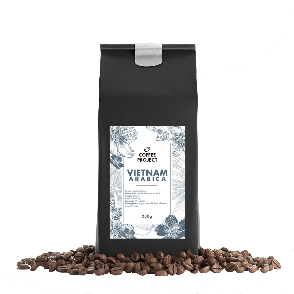 Vietnamese Arabica Beans-Coffee Project