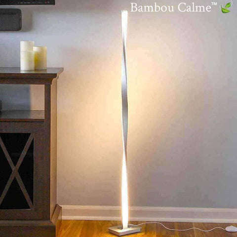 Lampe colonne design New York LED | Bambou Calme