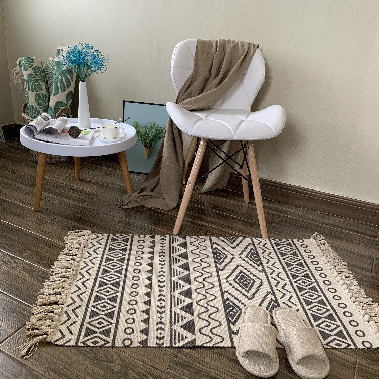 Tapis NordicDream croché à la main