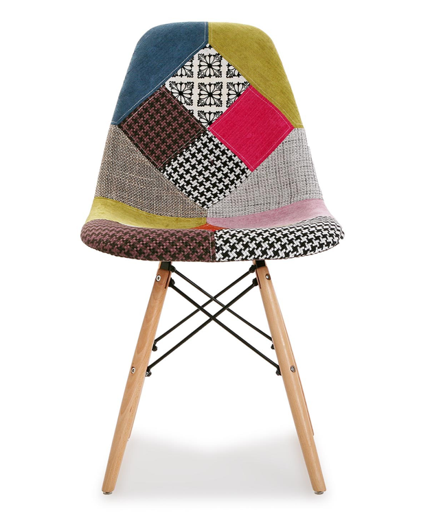 Silla estampado patchwork