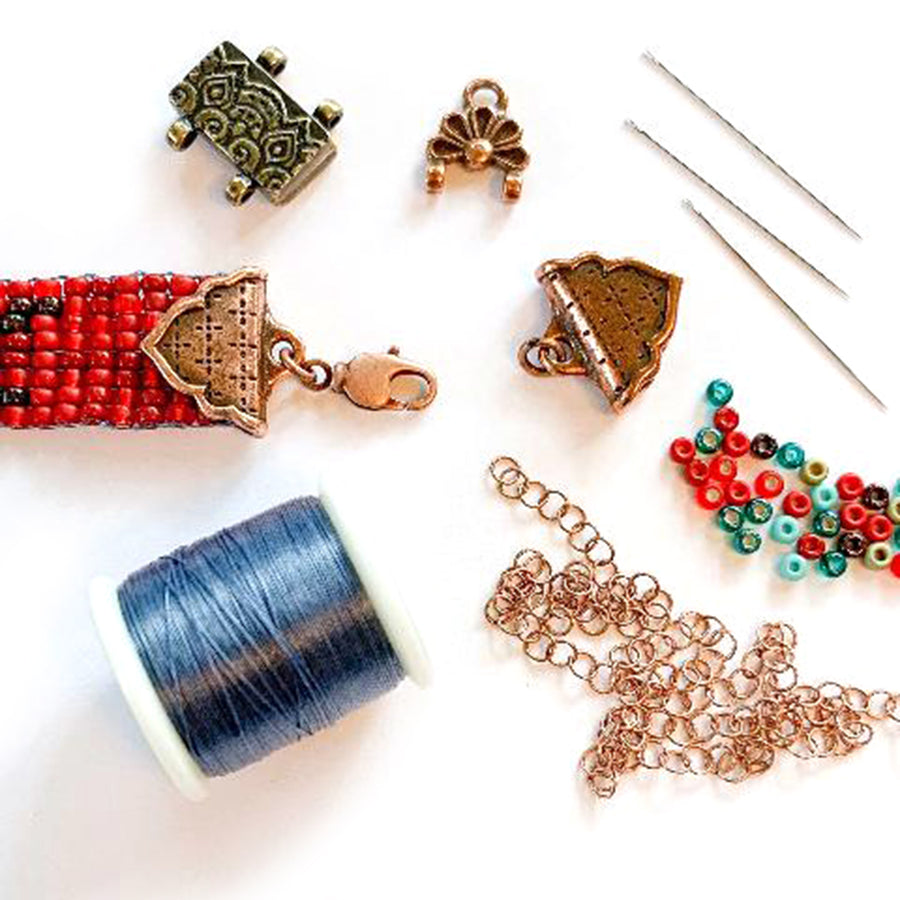 Clasps and Closures for Seed Bead Projects