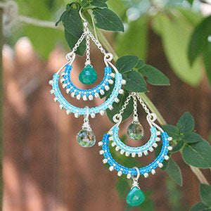 Bay of Bengal Earrings