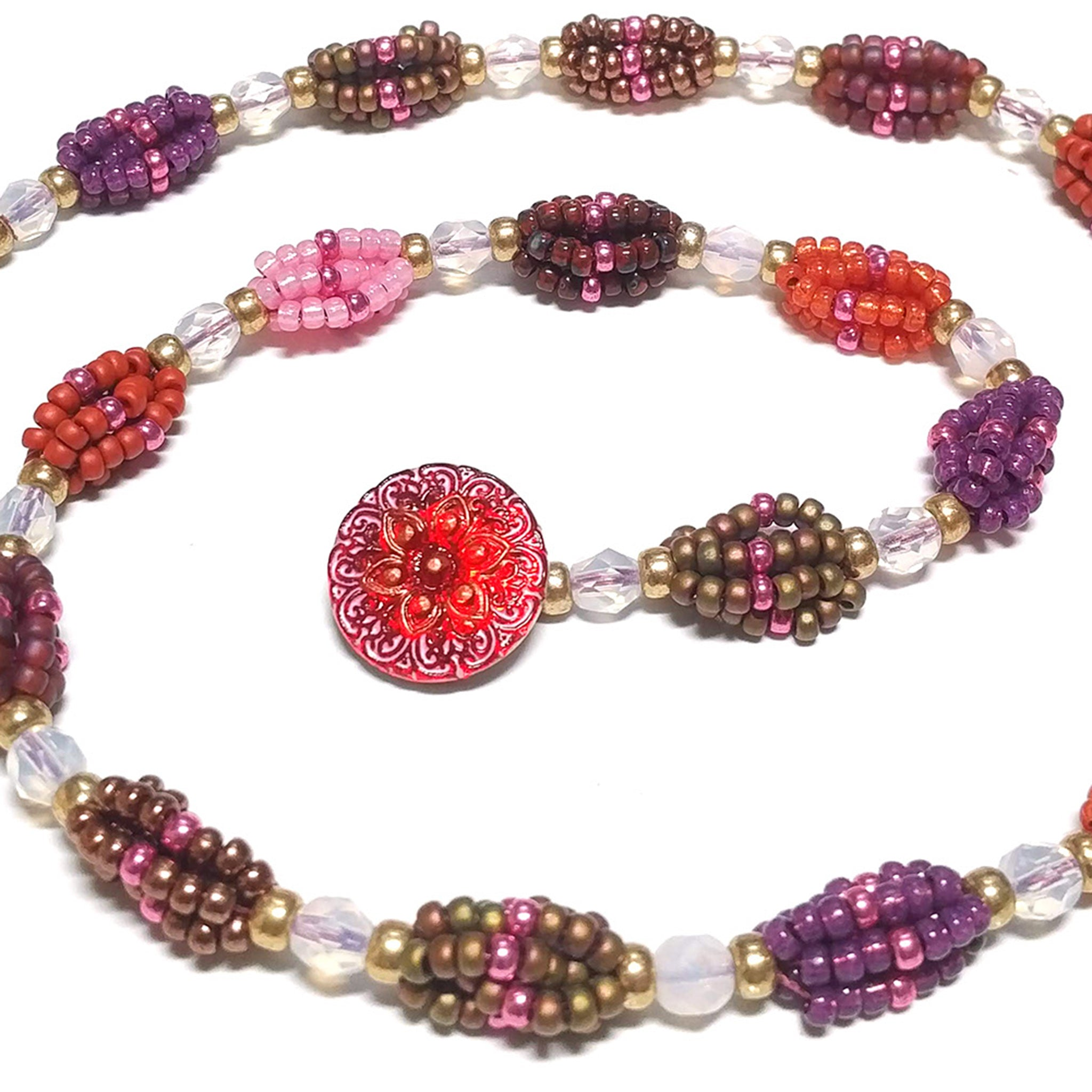 Beaded Berry Chain