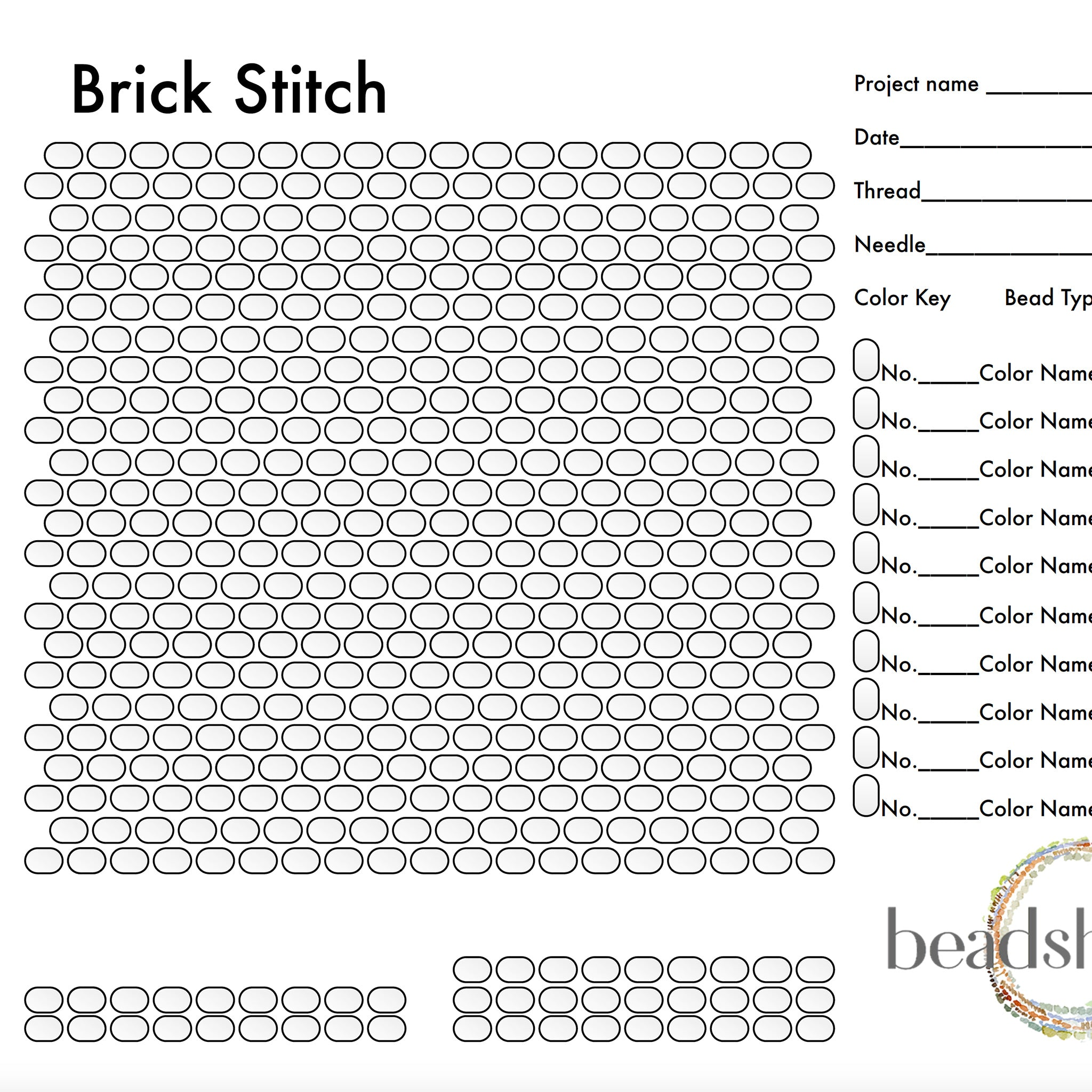 Brick Stitch Graph
