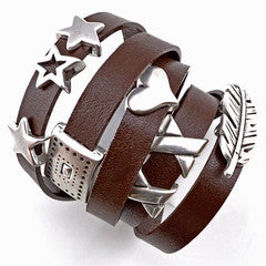 Easy Leather Wrap