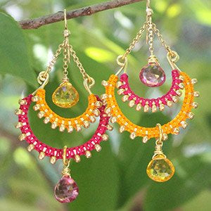 Lights of Bombay Earrings