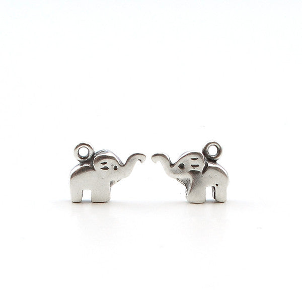 Little Elephant- Antique Silver