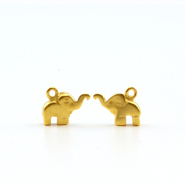 Little Elephant- Satin Gold
