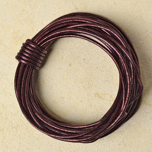 Metallic Maroon- 1.5mm Indian