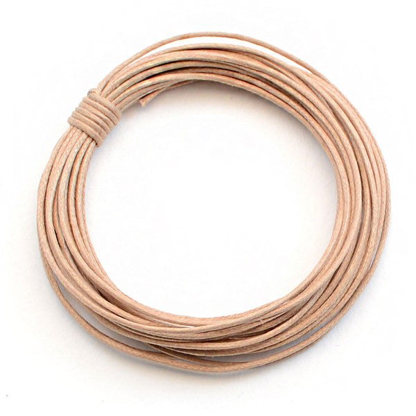 Natural - 0.5mm Cotton Cord
