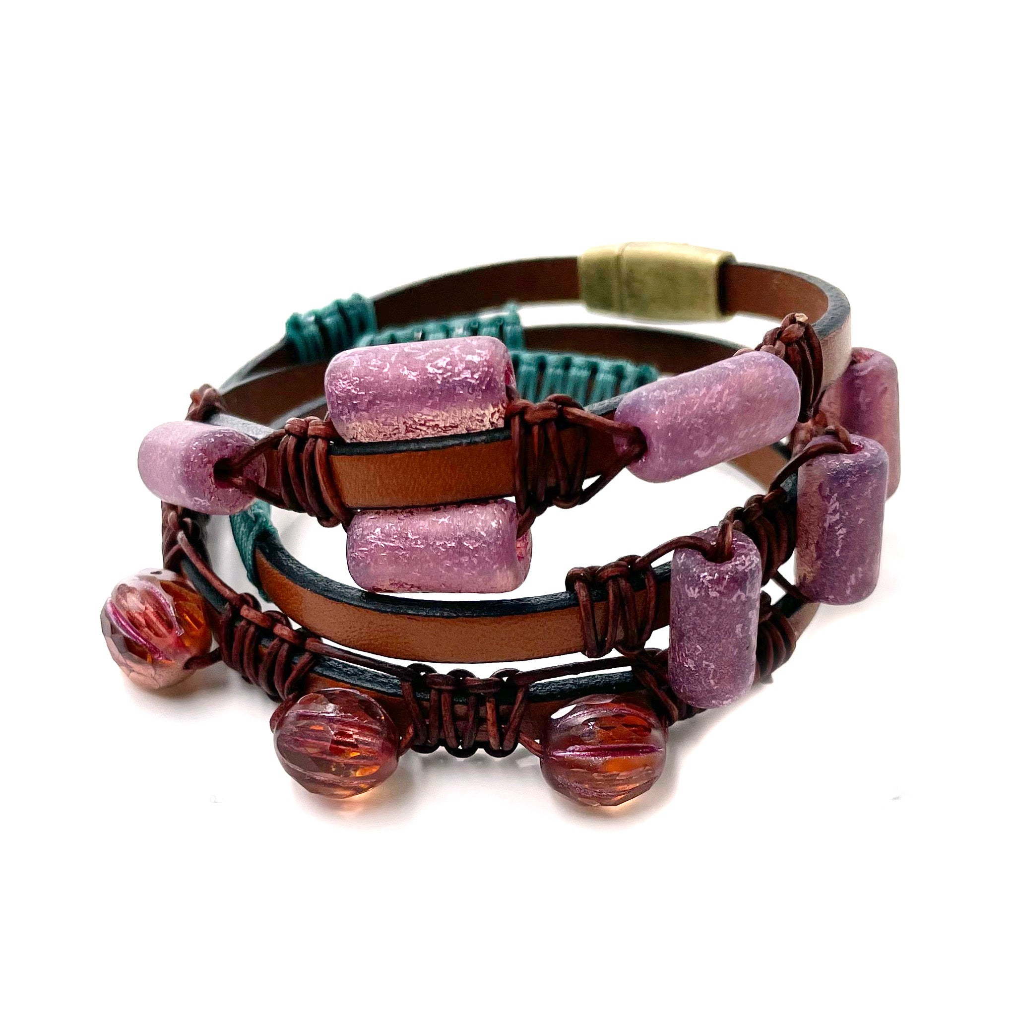 Prairie Leather Wrap