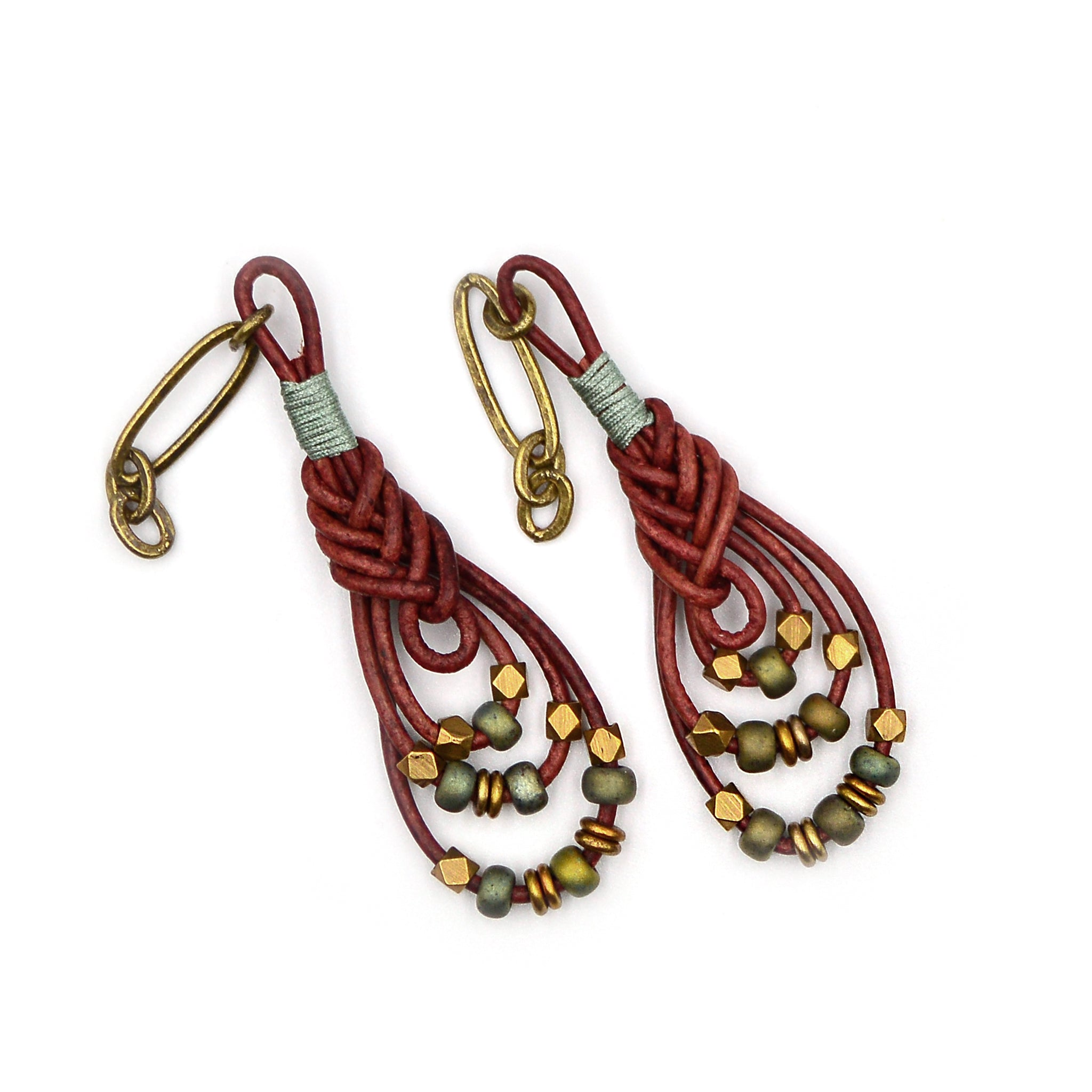 Teardrop Knot Earrings