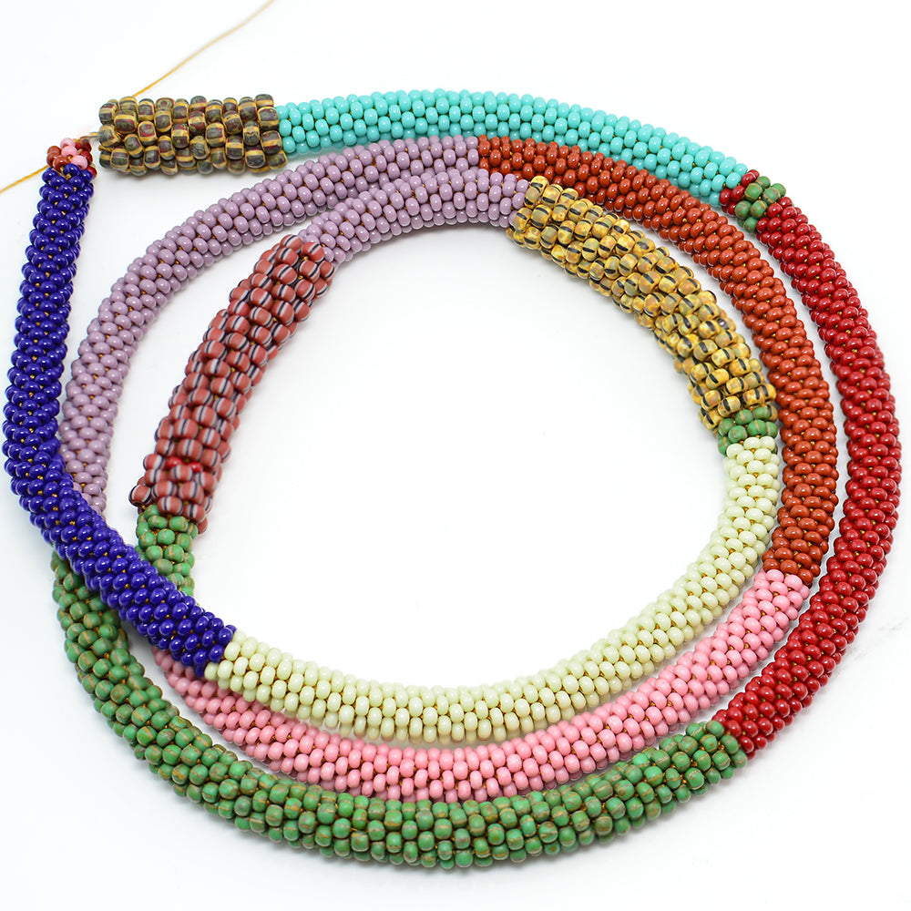 Tubular Bead Crochet