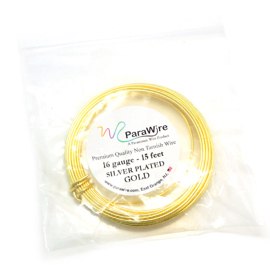 ParaWire Non-Tarnish Gold- 16G Round