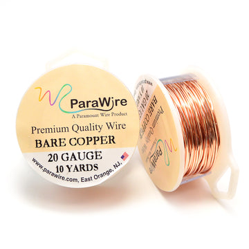 ParaWire Bare Copper- 20G Round