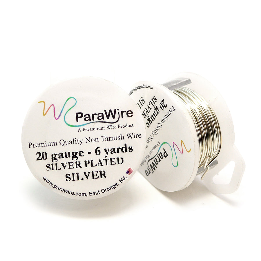 ParaWire Non-Tarnish Silver- 20G Round