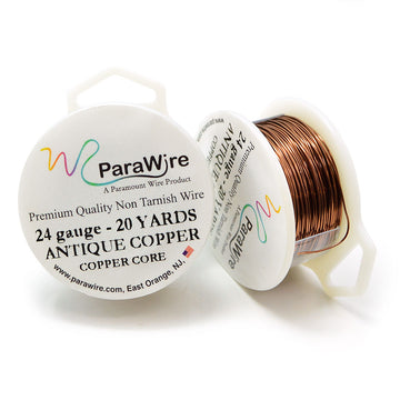 ParaWire Non-Tarnish Antique Copper- 24G