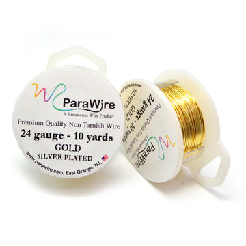 ParaWire Non-Tarnish Gold- 24G Round