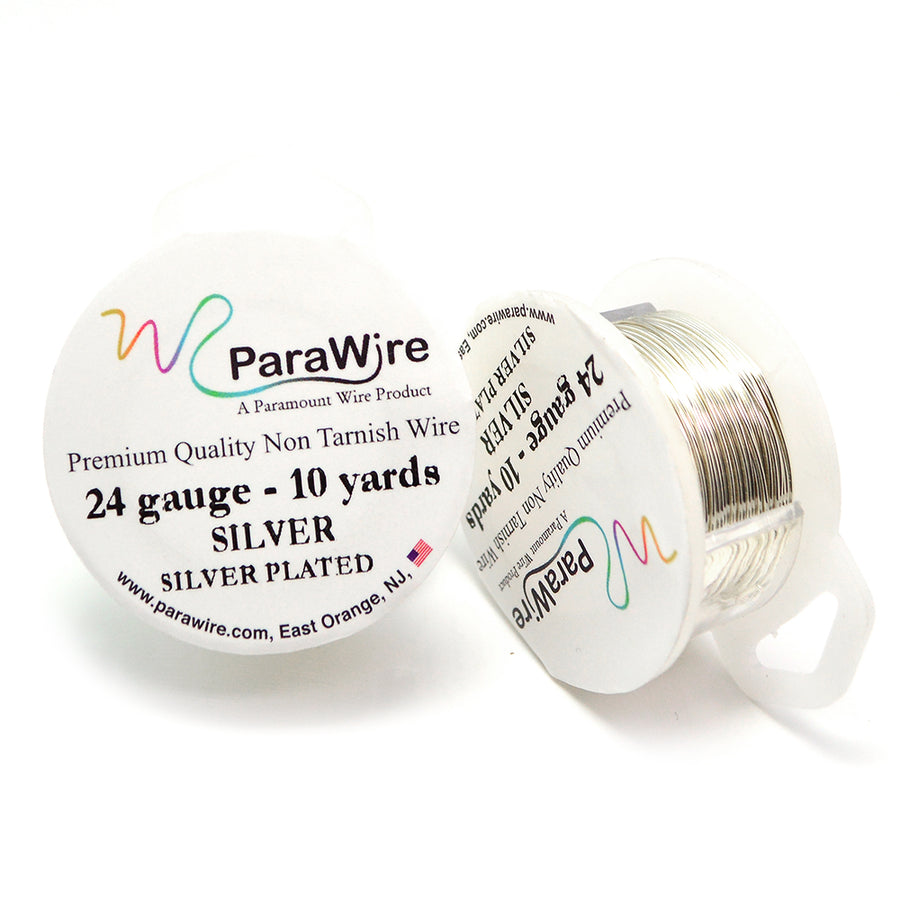 ParaWire Non-Tarnish Silver- 24G Round