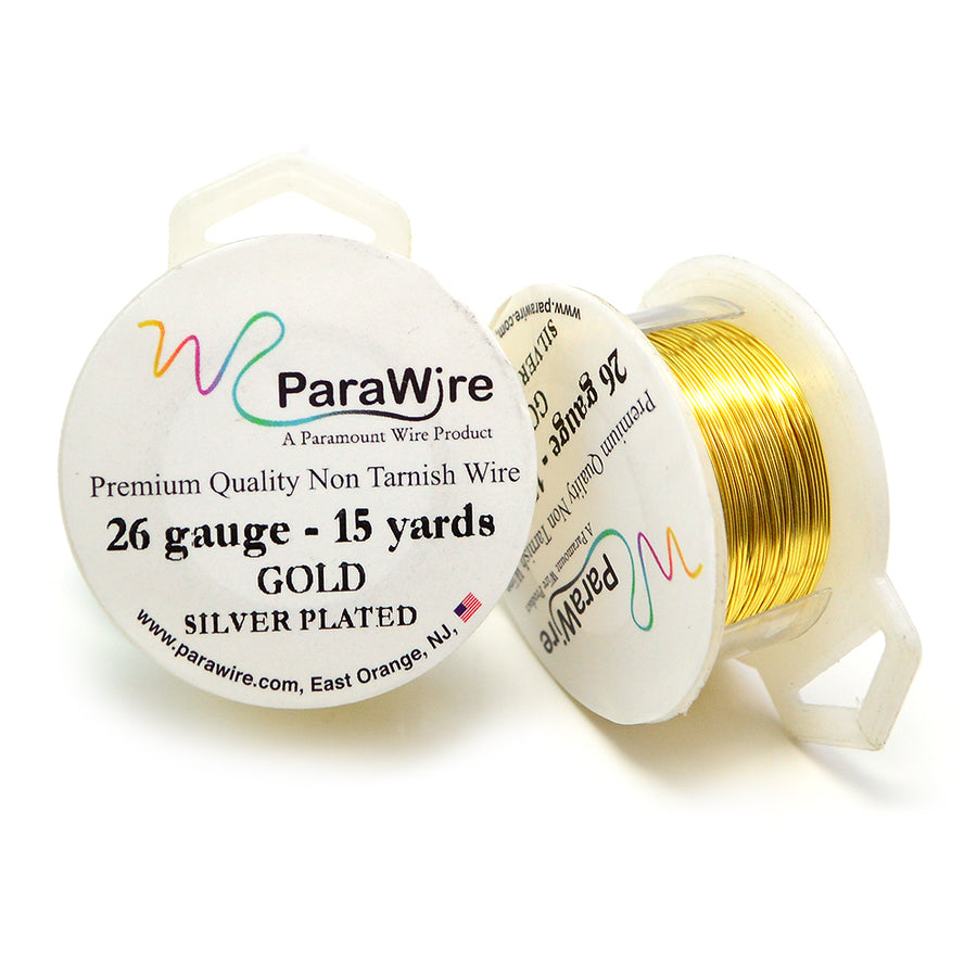 ParaWire Non-Tarnish Gold- 26G Round