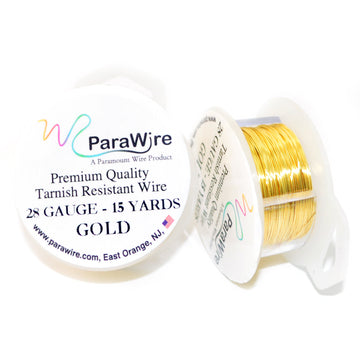 PARAWIRE NON-TARNISH GOLD- 28G