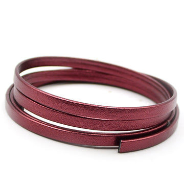 Pearlized Metallic Burgundy- 5mm