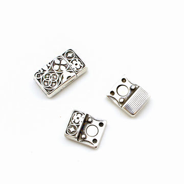 Book of Kells-Silver , Clasps - Helby, Beadshop.com