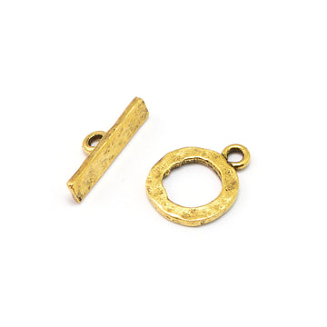 Essential Toggle- Antique Gold