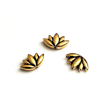 Lotus Bead- Gold