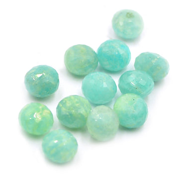 Amazonite Rondelle Bead- 7mm