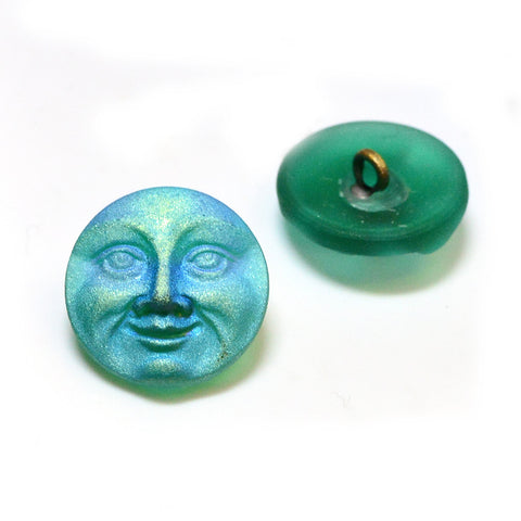 Full Moon- Emerald AB - Beadshop.com