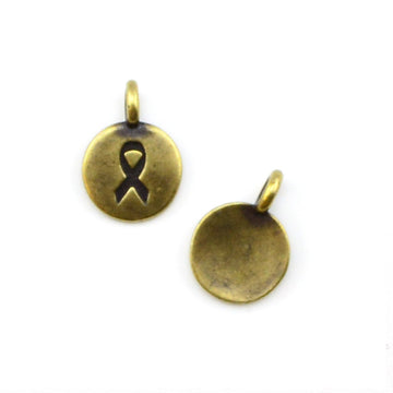 Bead Aware- Brass , Charms - Tierracast, Beadshop.com