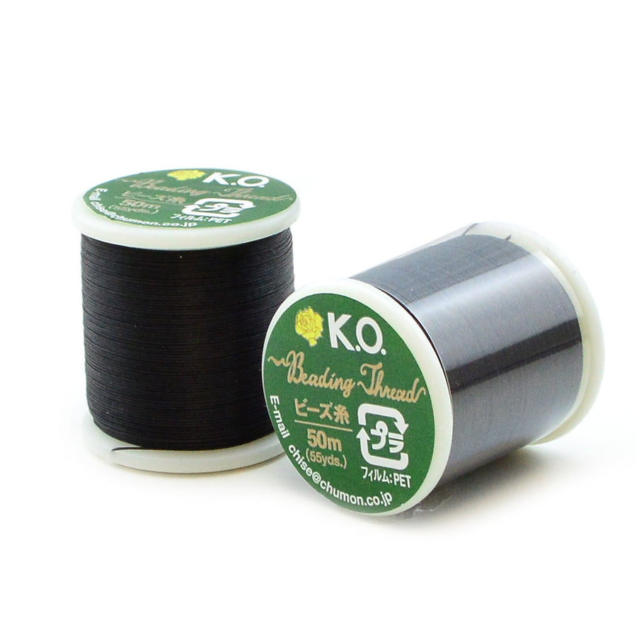 Black- KO Thread - Beadshop.com