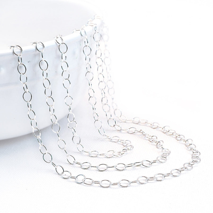 Endless Love- Bright Silver , Chain - Continental, Beadshop.com