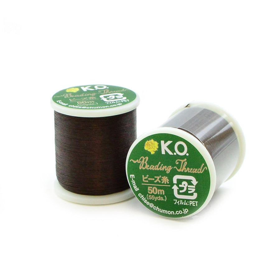 Dark Brown- KO Thread - Beadshop.com