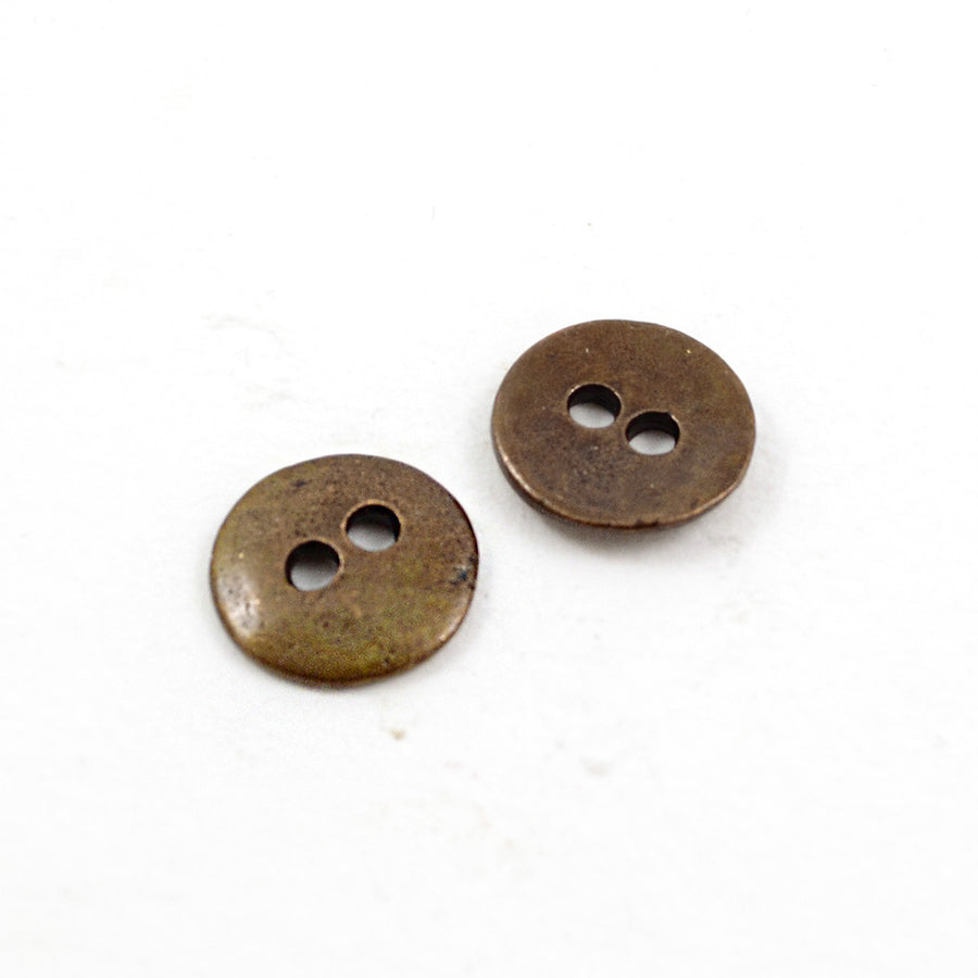 Button Eyes- Copper , Buttons - Continental, Beadshop.com