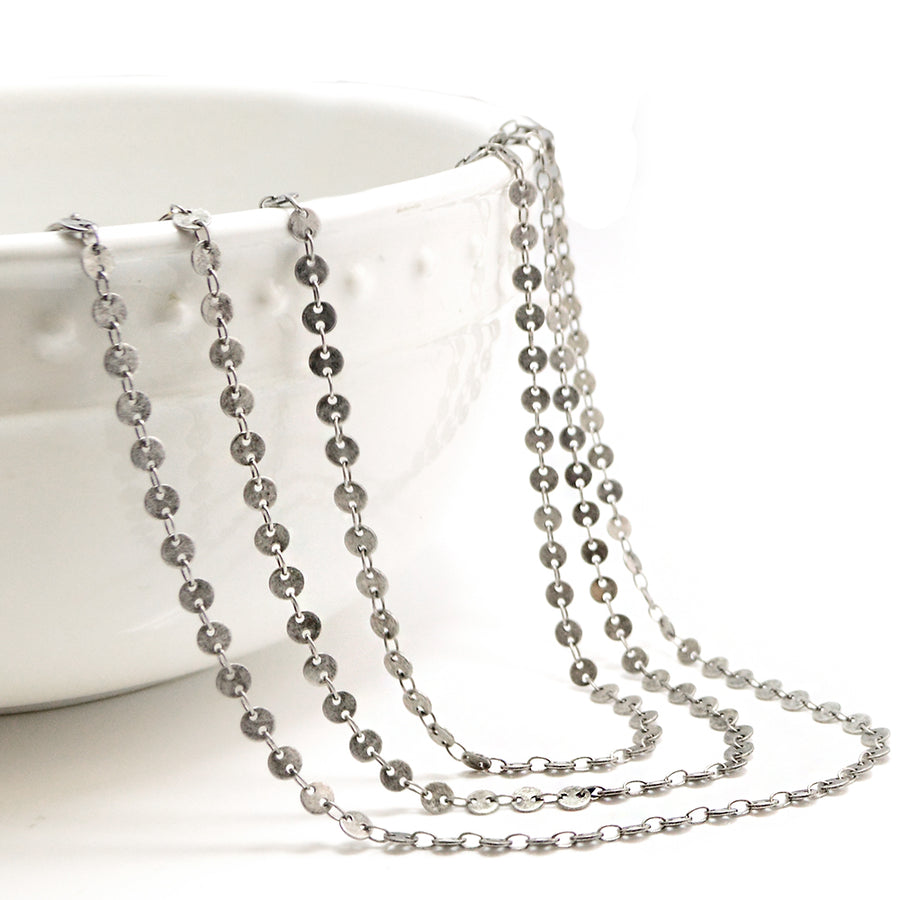 Little Lentil- Antique Silver - Beadshop.com
