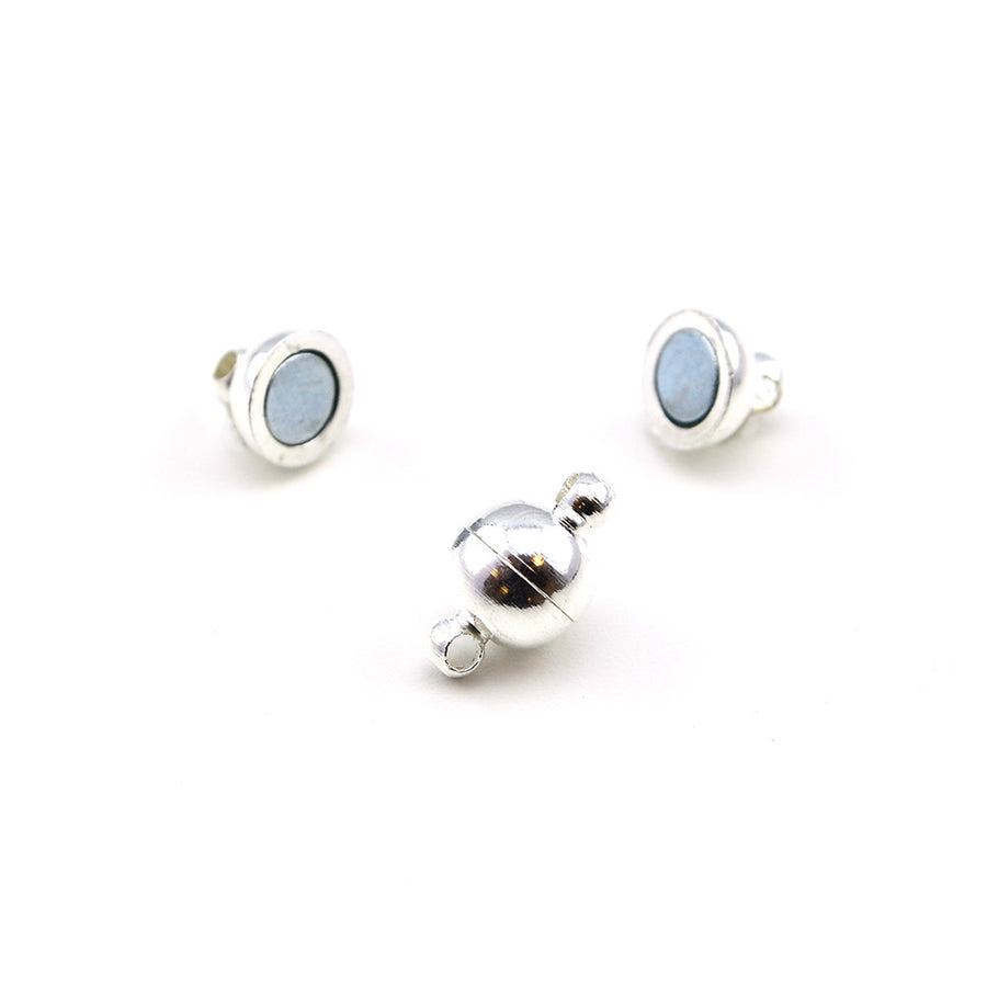 Cuties- Bright Silver , Clasps - Continental, Beadshop.com