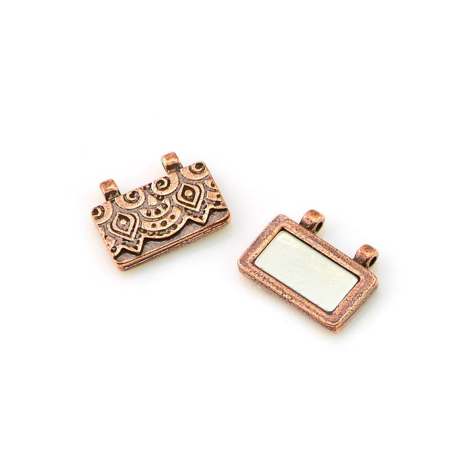 Temple Clasp- Antique Copper