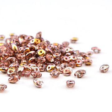 Crystal Capri Gold , superduo - Helby, Beadshop.com