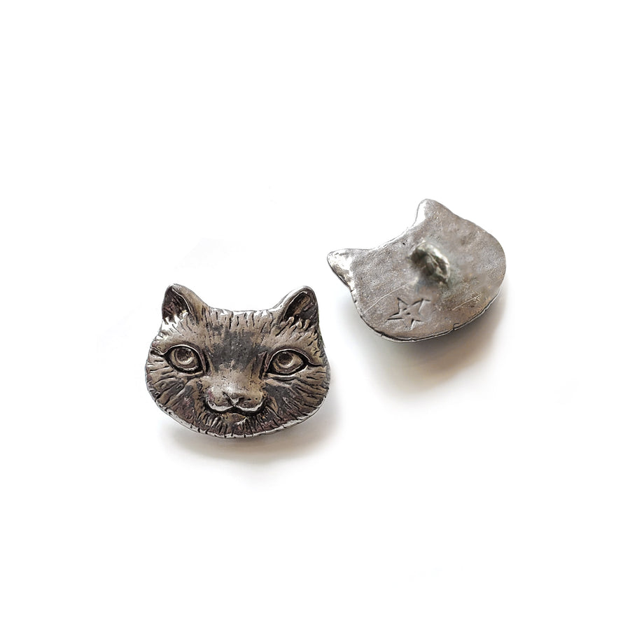 Cute Cat Button