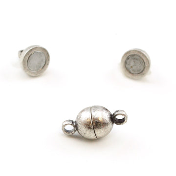 Cuties- Antique Silver , Clasps - Continental, Beadshop.com