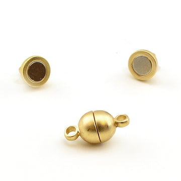 Cuties- Satin Gold , Clasps - Continental, Beadshop.com