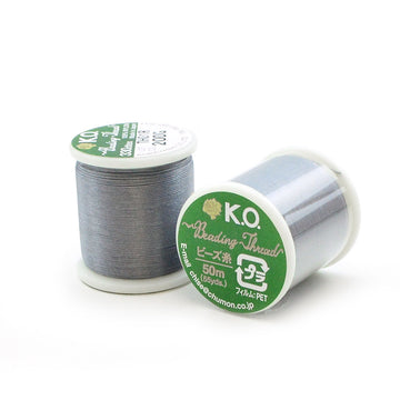 Dark Grey- KO Thread - Beadshop.com