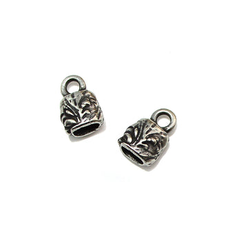 Jardin Ribbon Crimps- Antique Silver