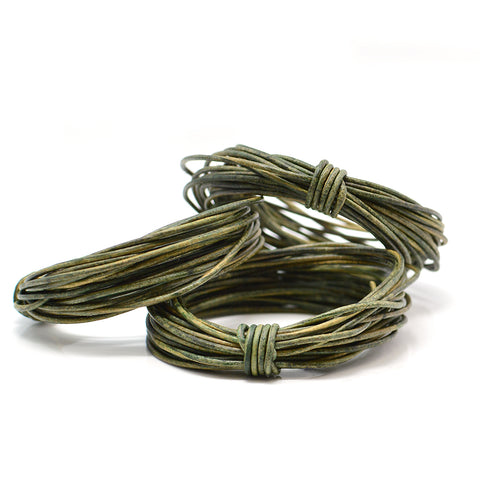 Distressed Green- 1.0mm Indian