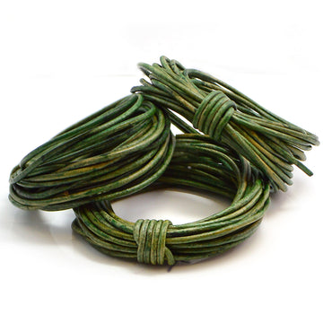 Distressed Green- 1.5mm Indian