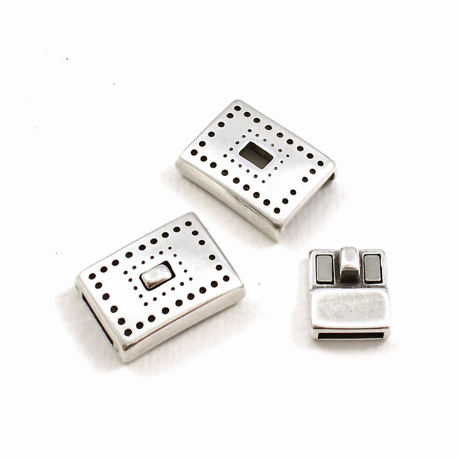 Dotted Line-10 , Clasps - Helby, Beadshop.com