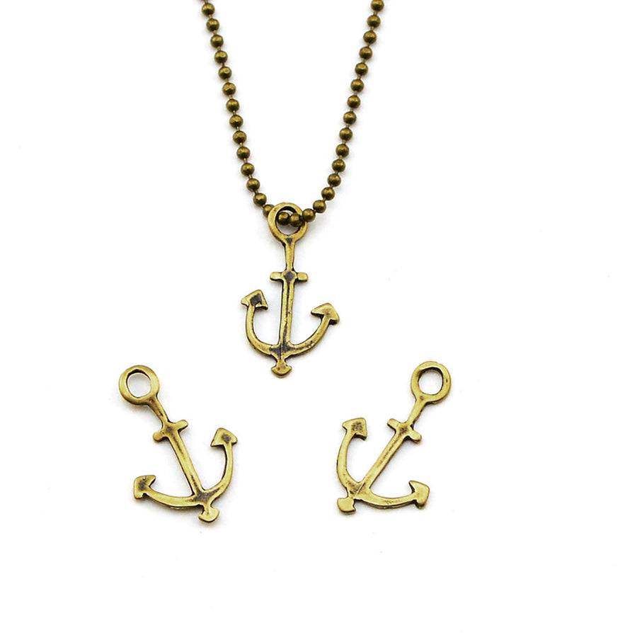 Out to Sea- Brass , Charms - JBB International, Beadshop.com