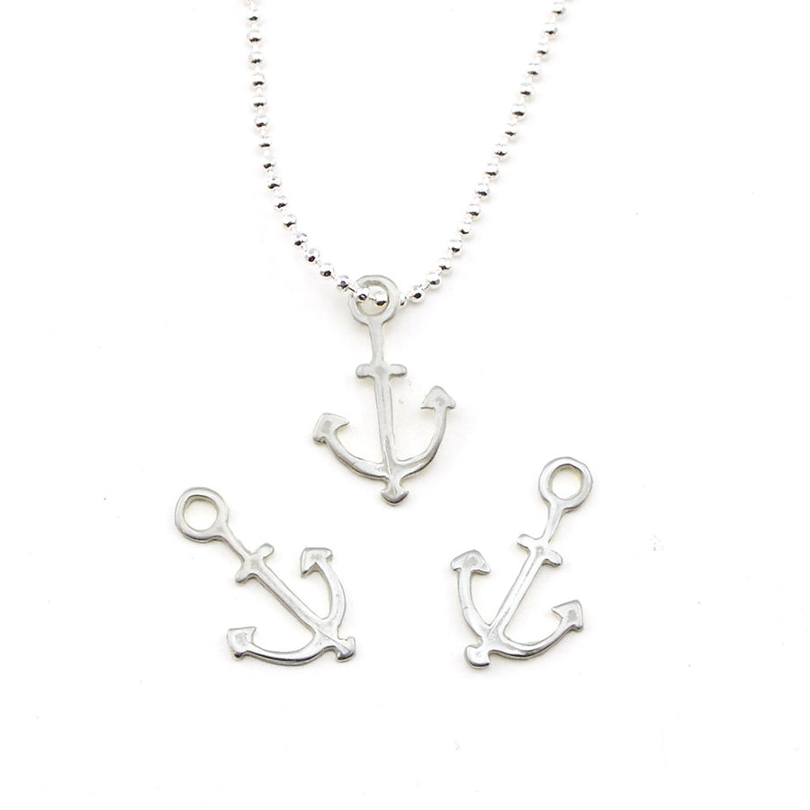 Out to Sea- Satin Silver , Charms - JBB International, Beadshop.com